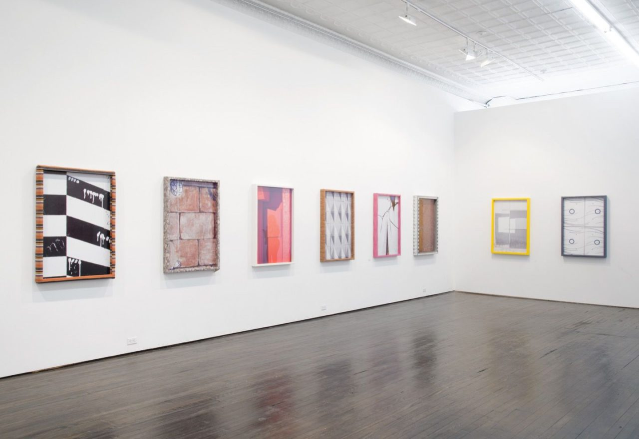Chris Wiley | Installation view of Dingbats, 2014