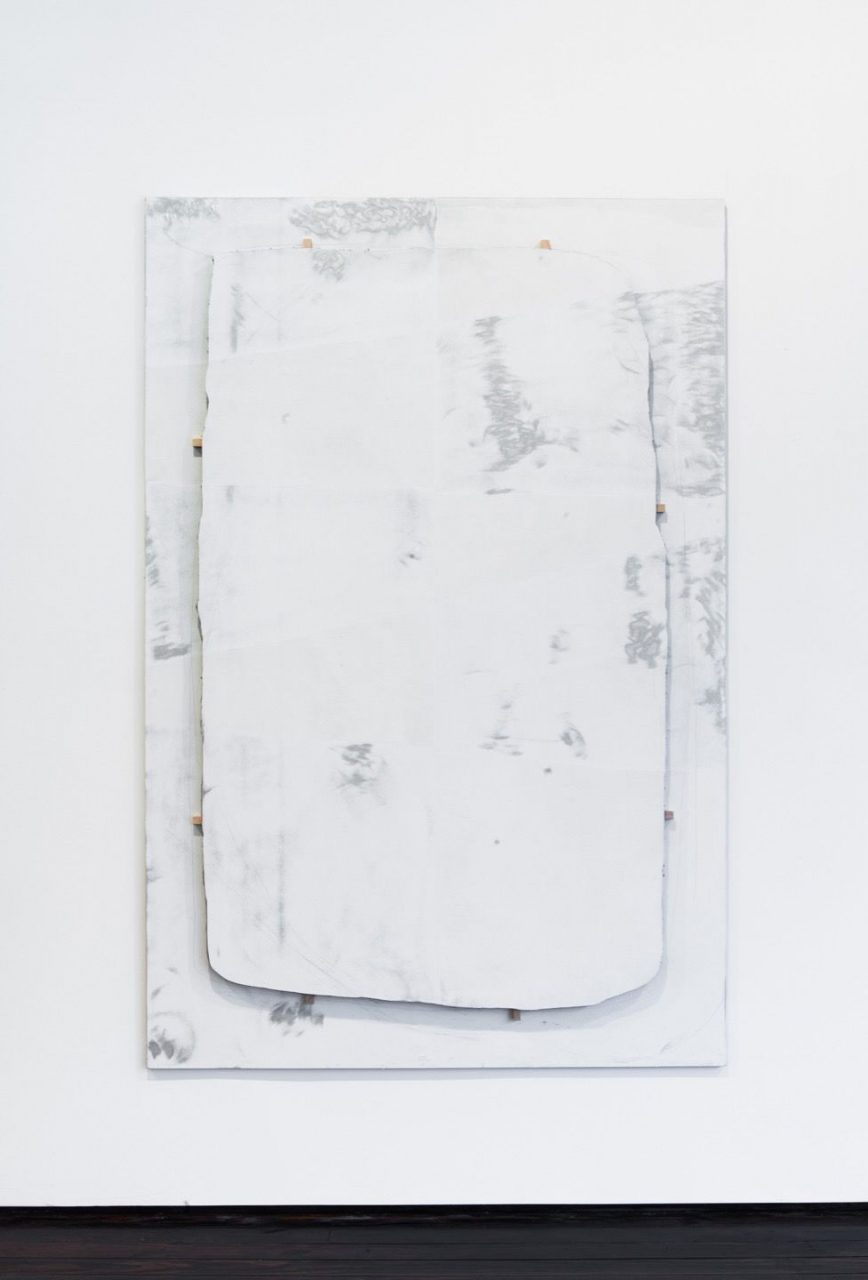Please Be Clean When You Do It   Untitled (Cut White), 2013