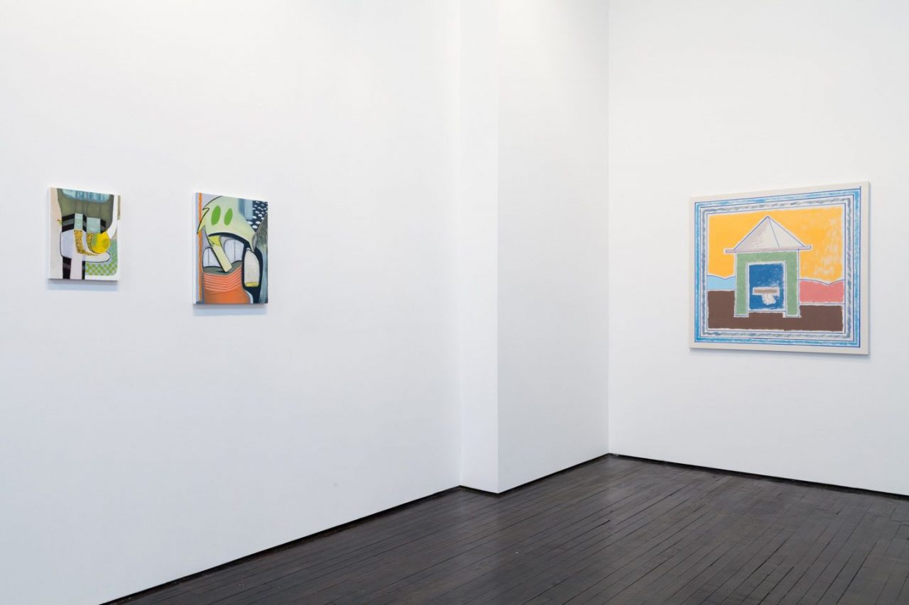 Cabinet in the Mirror | Installation view, Cabinet in the Mirror, 2016
