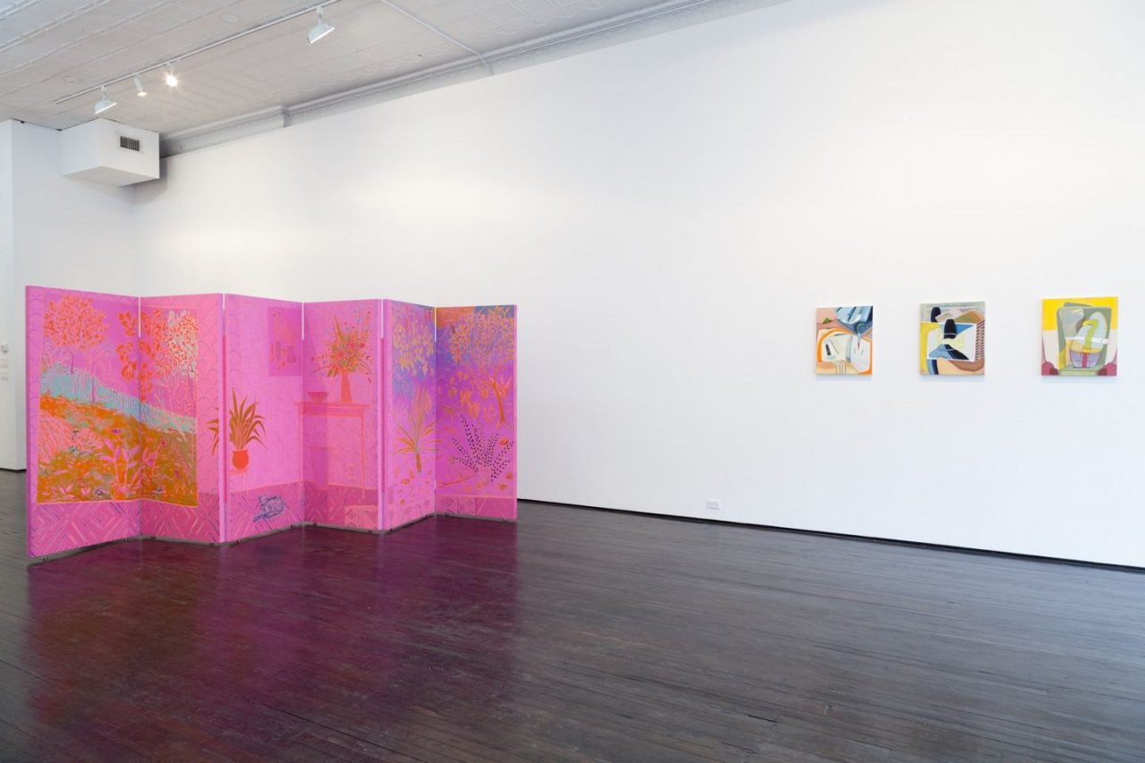 Cabinet in the Mirror   Installation view, Cabinet in the Mirror, 2016