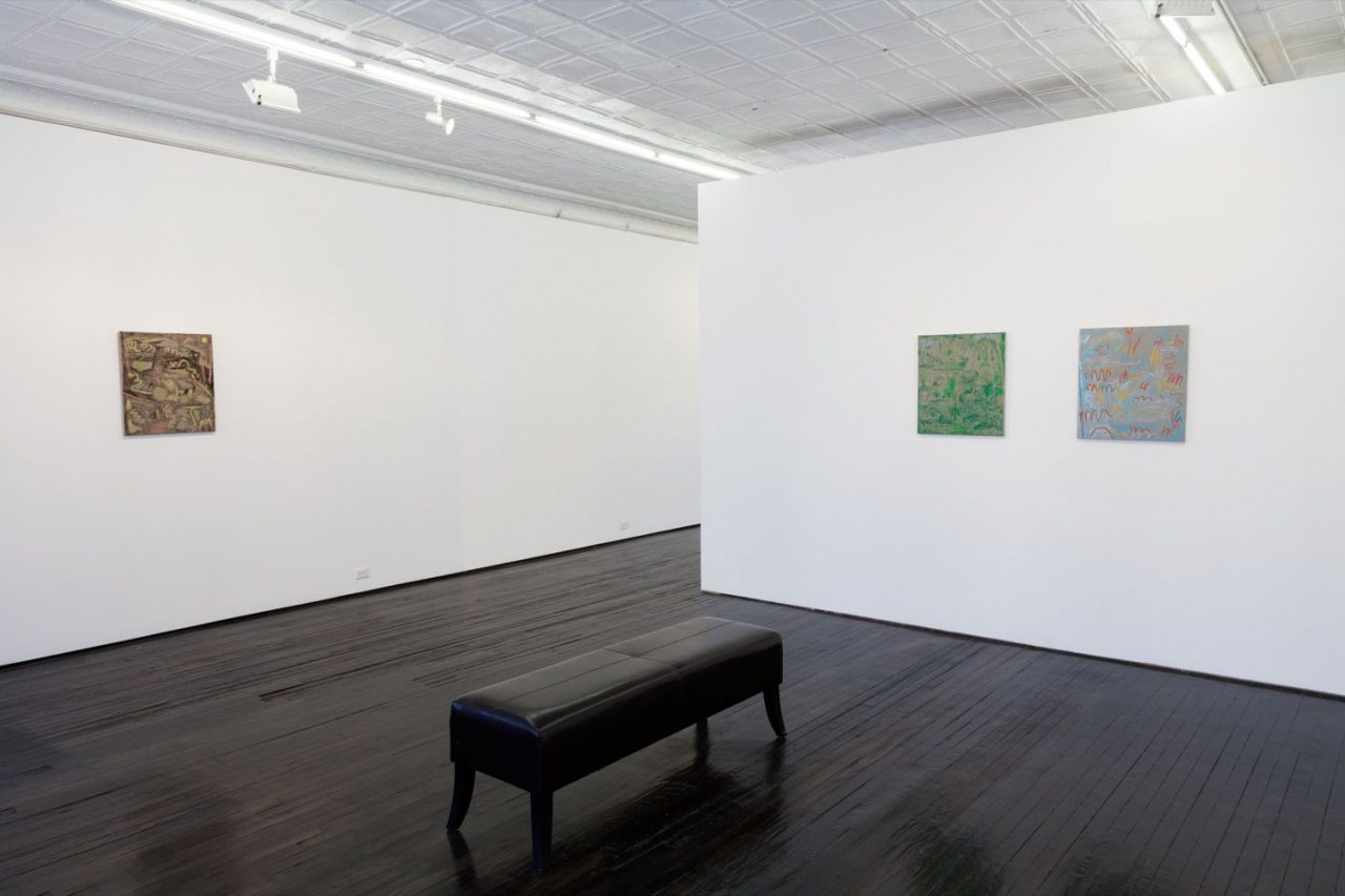 Winter Paintings | Installation view of Winter Paintings, 2016
