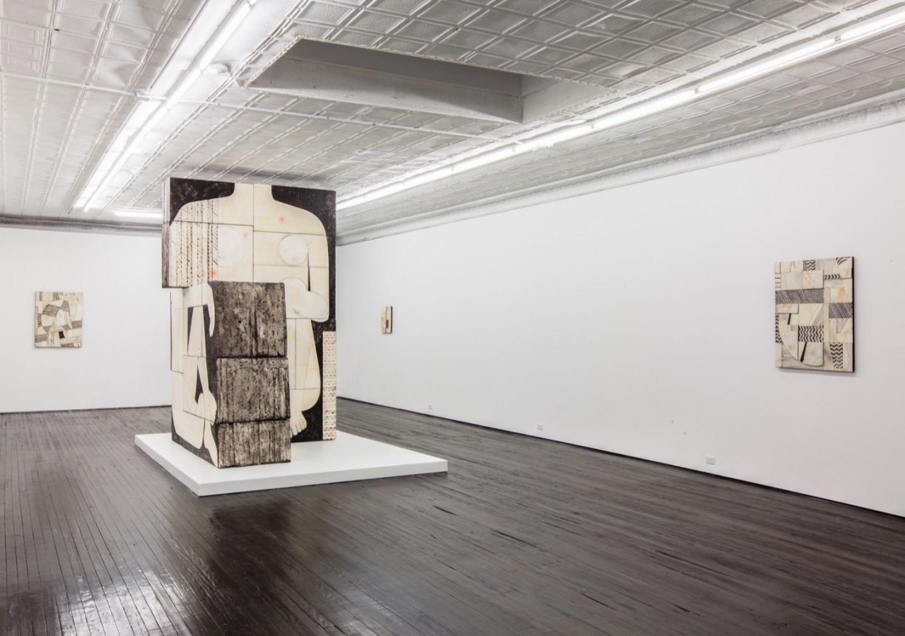 Seated Woman | Installation view, Seated Woman, 2013