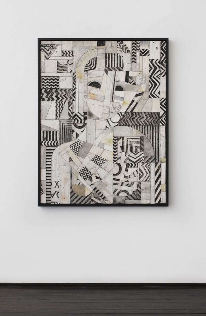 Figures, Fragments and Open Form | Quilted Figure, 2015