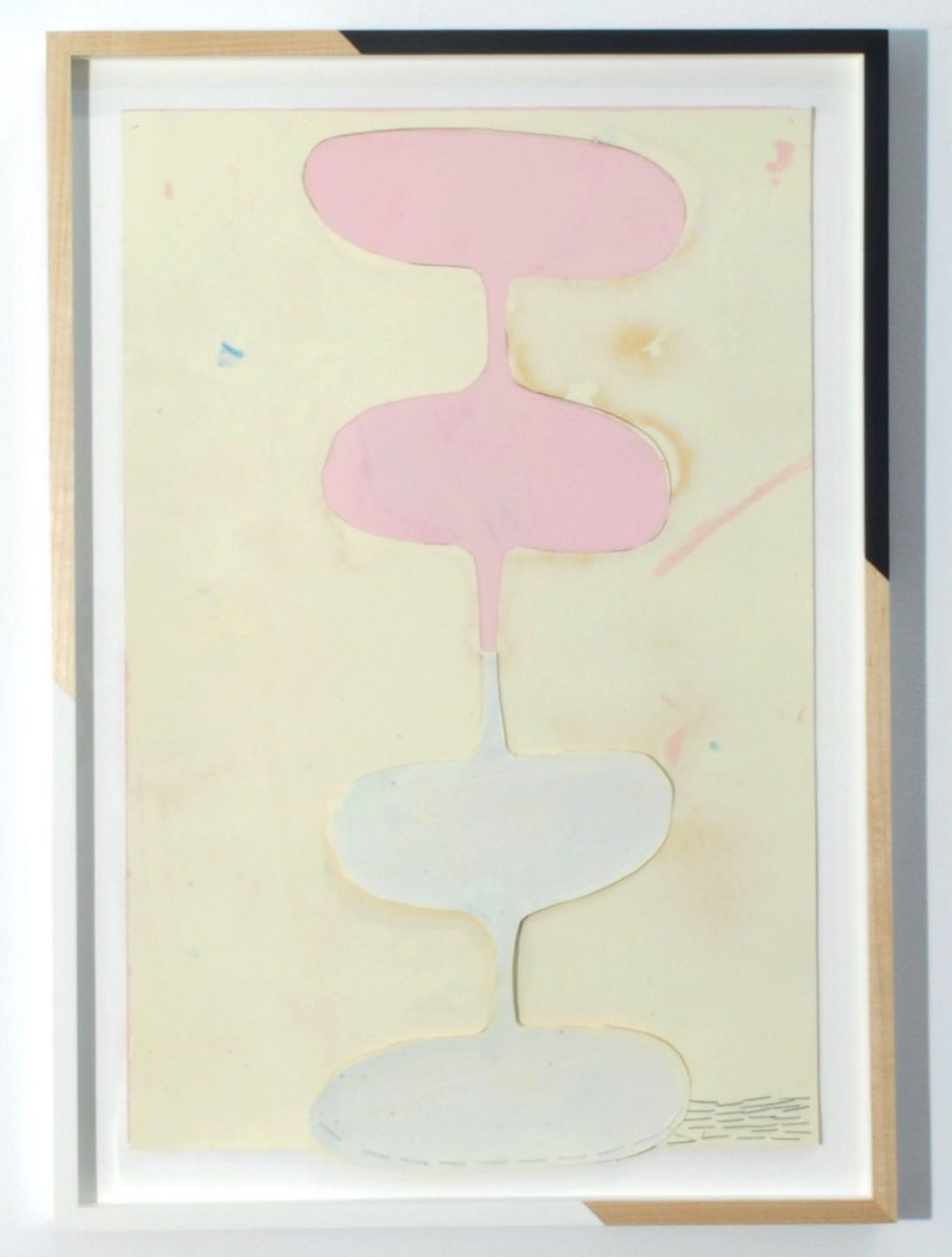 Jim Lee and The Cream Tones | Untitled (Pink, Cream, Peel, Down), 2014