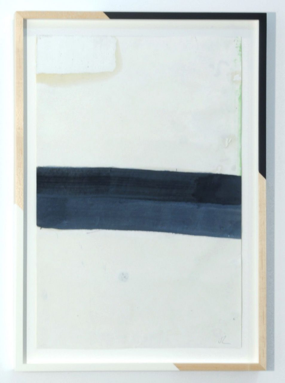 Jim Lee and The Cream Tones | Untitled Composition (Cream Top, Double Stripe), 2014