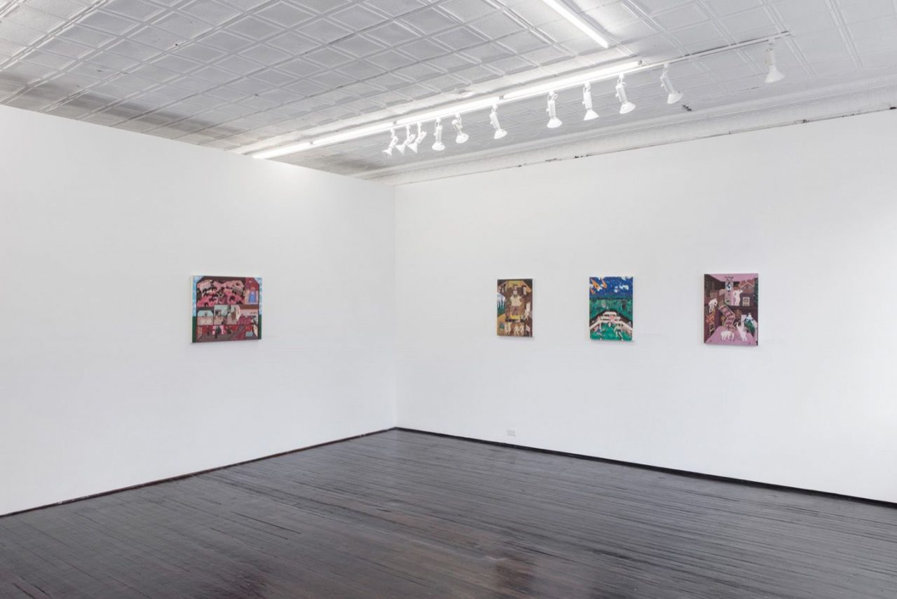 Storied   Installation view, Storied, 2017