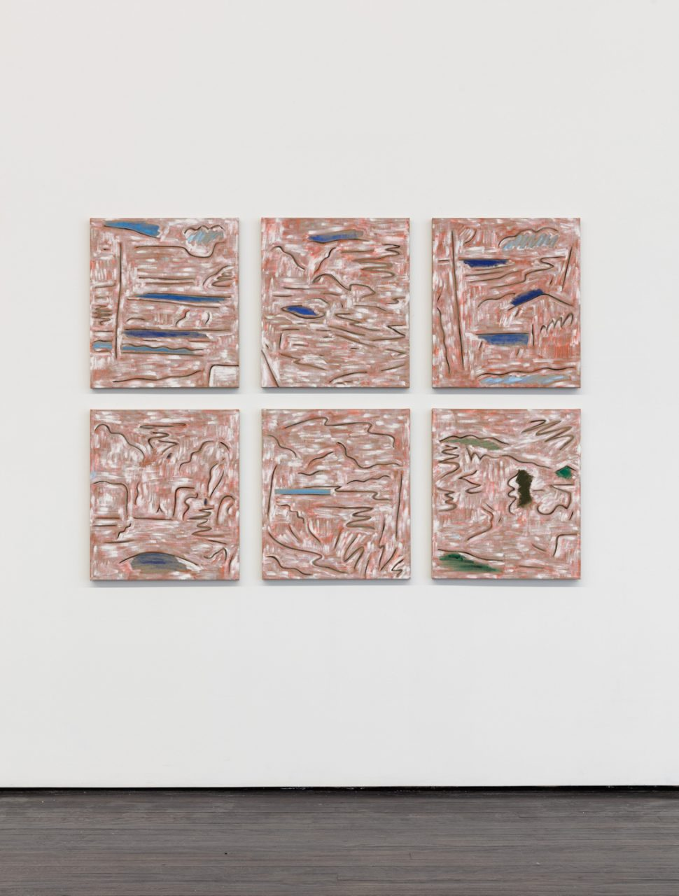 Landscape Paintings   Installation view of <i>Landscape Paintings</i>, 2018
