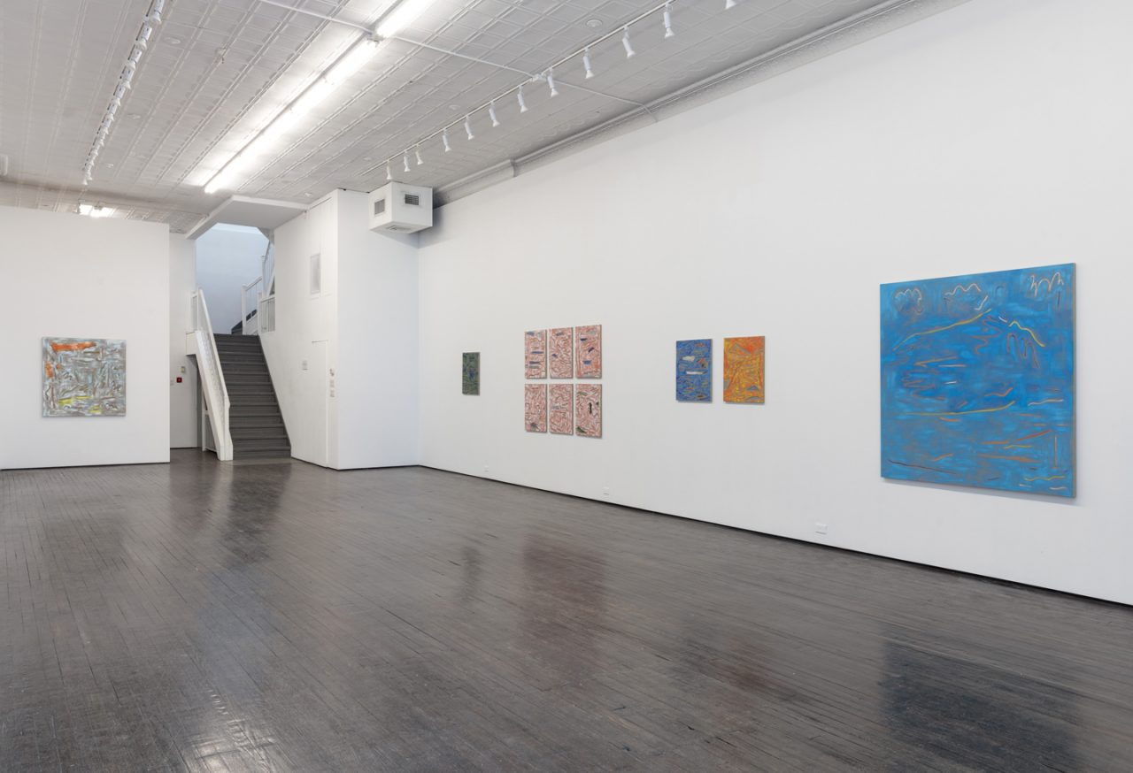 Landscape Paintings | Installation view of <i>Landscape Paintings</i>, 2018