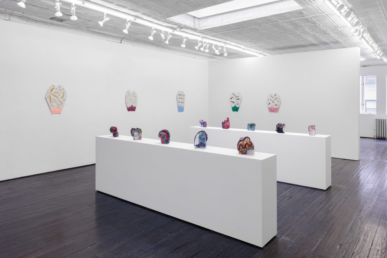 Lately Like a Hummingbird   Installation view of <i>Lately Like a Hummingbird</i>, 2018