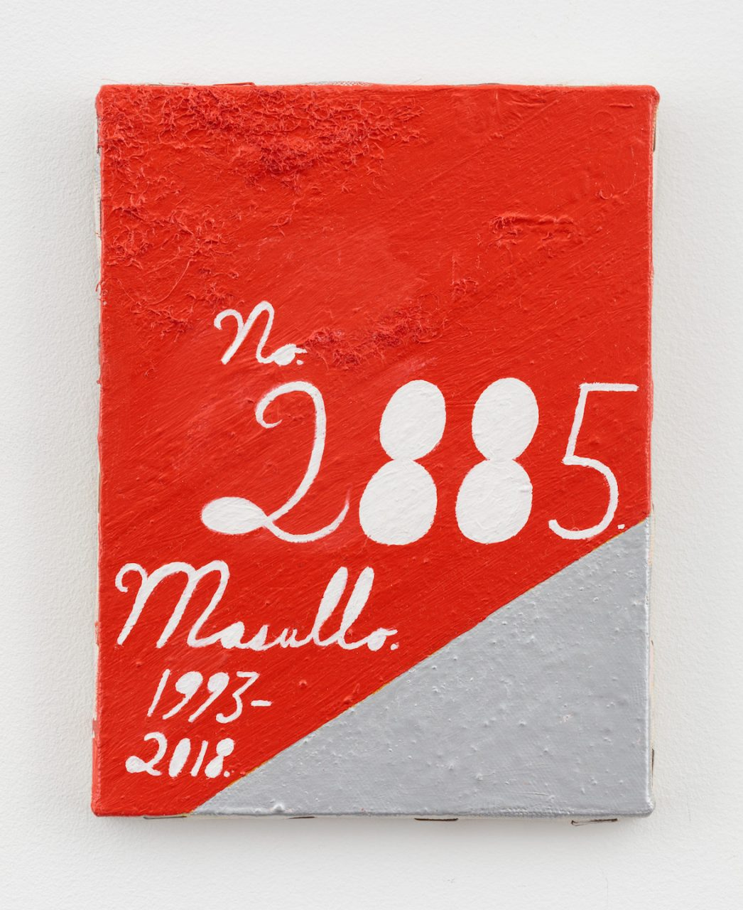 Recent Paintings | 2885, 1993-2018