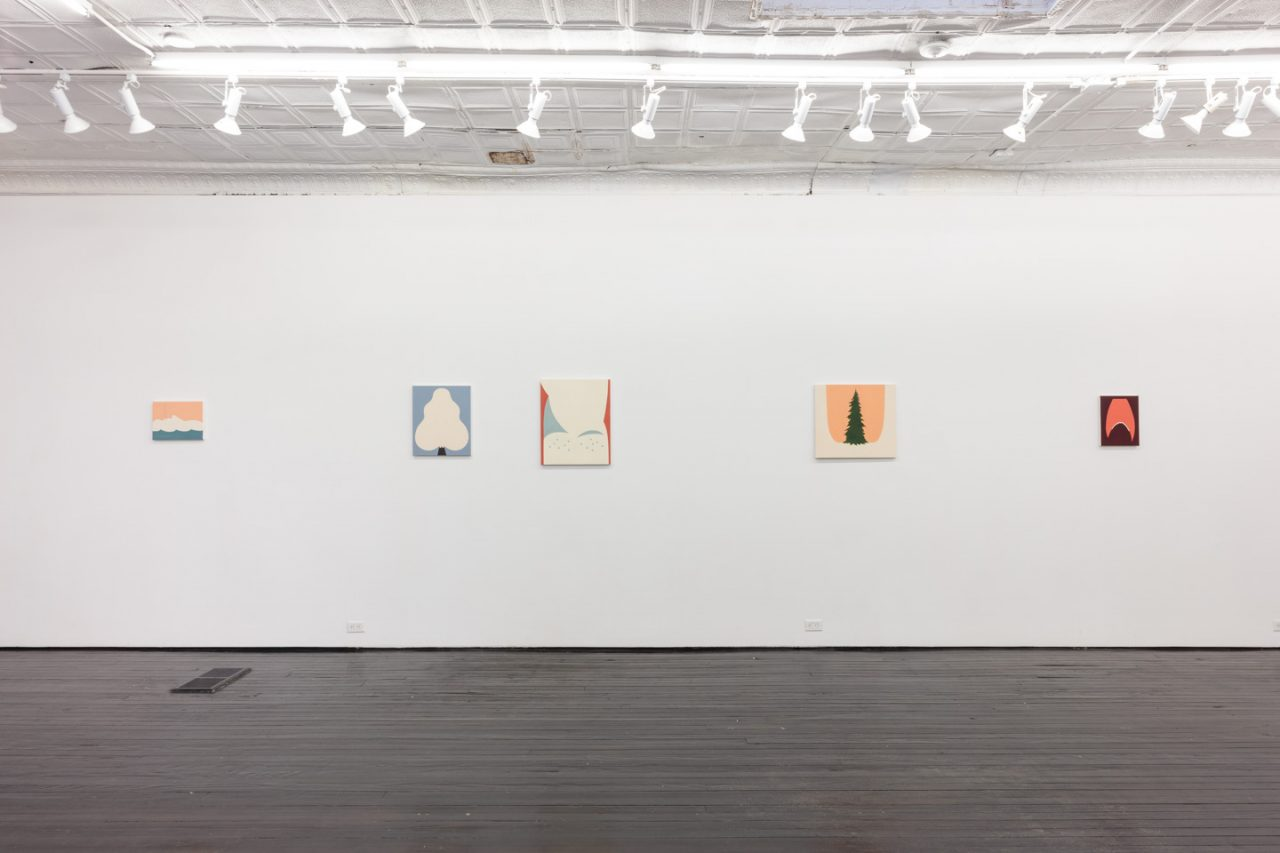 Long Red Moans   Installation view, Long Red Moans, 2018