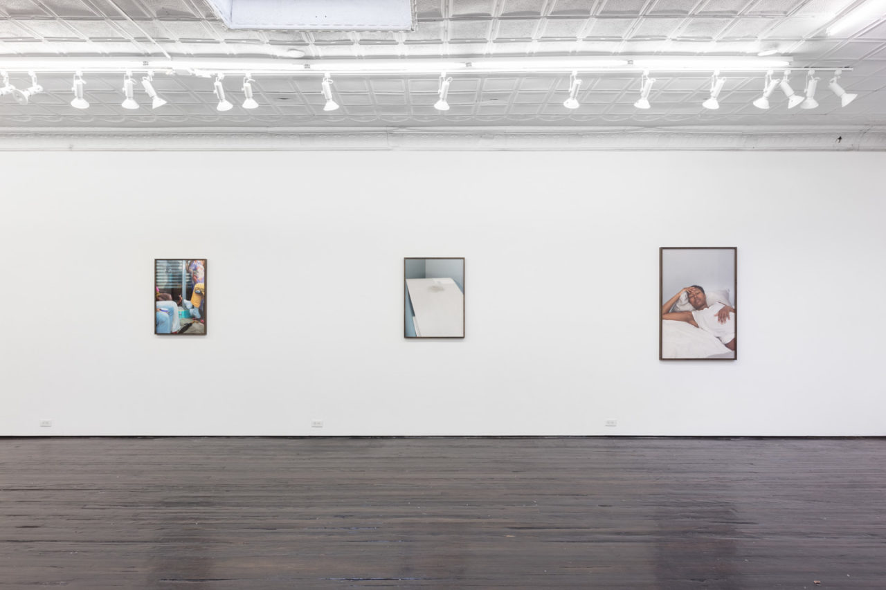 Arms to pray with   Installation view, Elliott Jerome Brown Jr., <i>Arms to pray with</i>, 2019