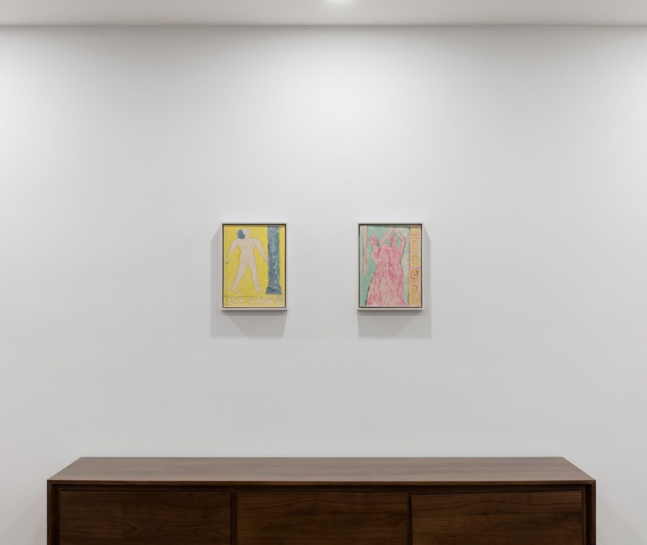 Fresco | Installation view, Ruby Sky Stiler, <i>Fresco</i>, 2019