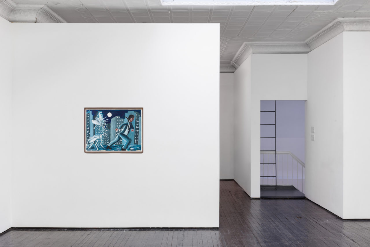 Works on Paper | Installation view, <i>Pursued</i>, 1979
