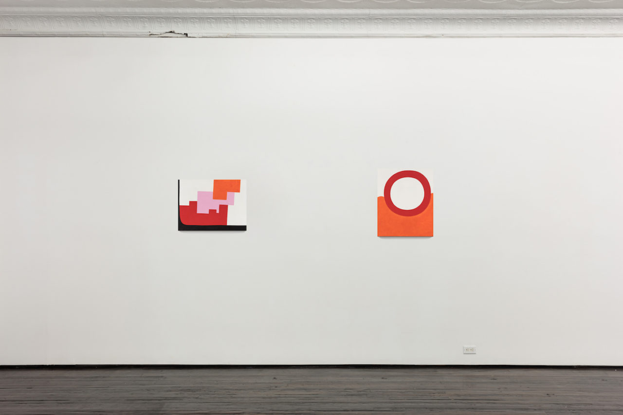 Paintings | Installation view, <i>6024</i>, 2014-2016, and <i>5971</i>, 2014-2015