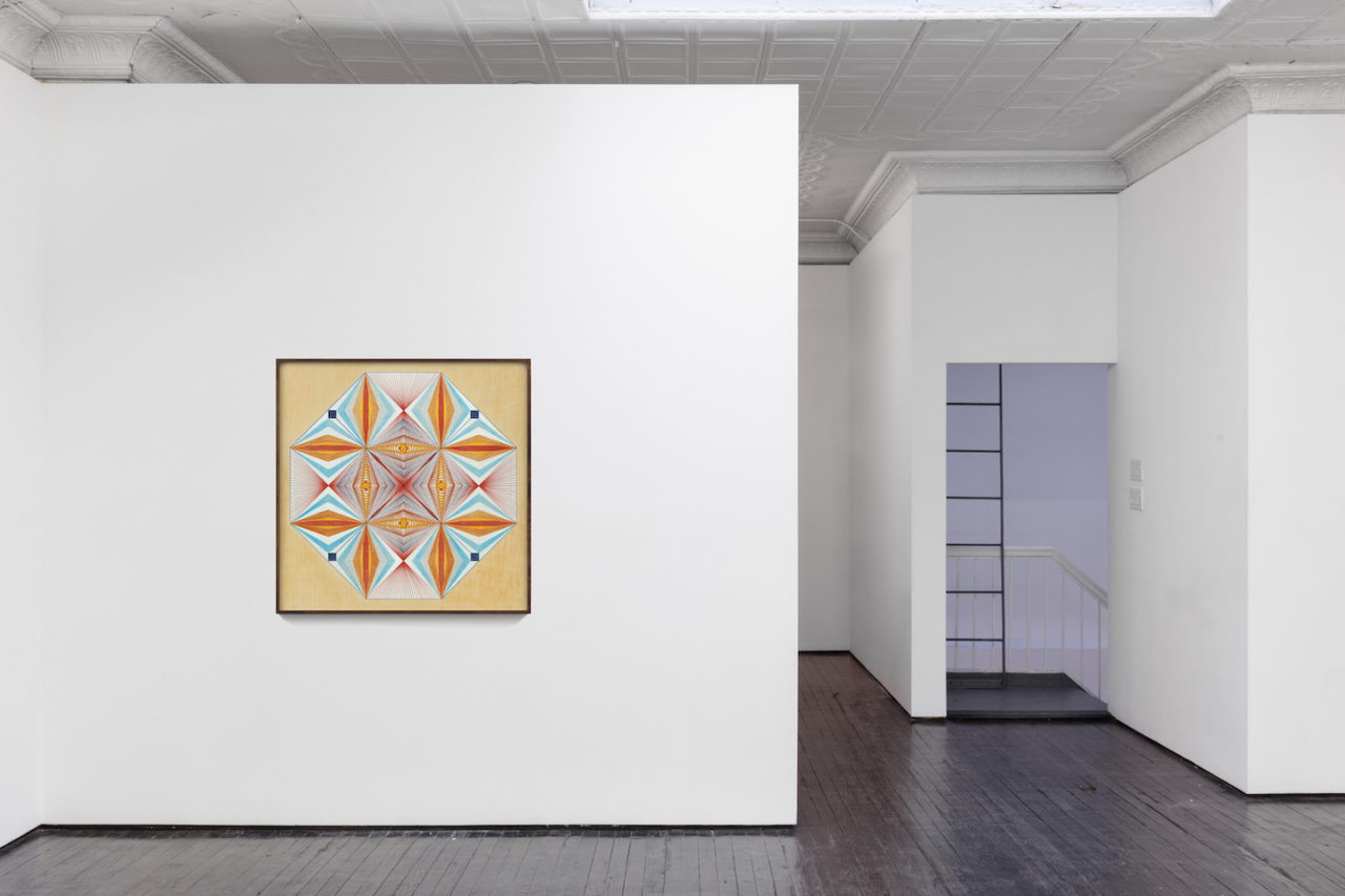 In Sickness and In Health | Installation view, Emma Kunz, <i>Work No. 003</i>, n.d.<br>